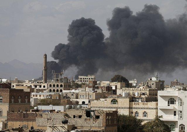 Frappes sur la capitale du Yémen, Sanaa