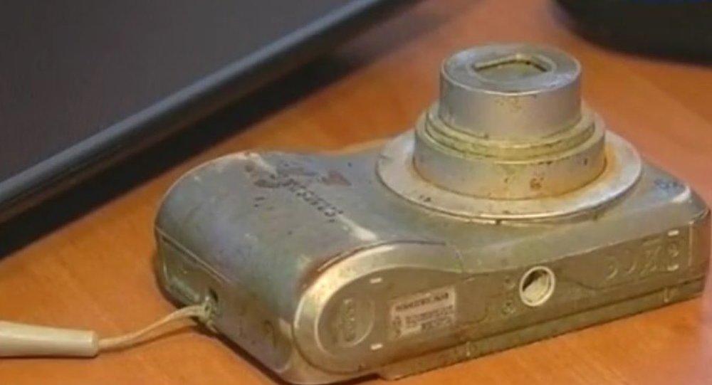 Cet appareil photo a passé trois ans au fond du lac Baïkal