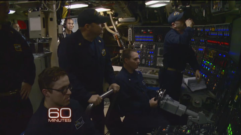 Membres de l'équipage du sous-marin Kentucky