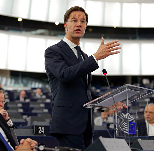 Le premier ministre des Pays-Bas Mark Rutte