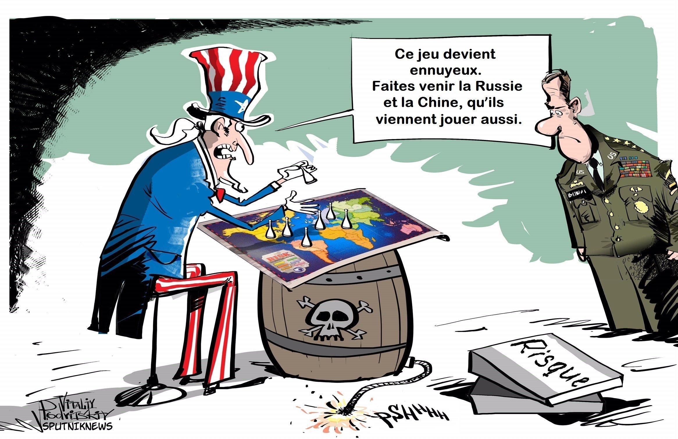 Redoutant la Russie et la Chine, les USA s'efforcent de les museler