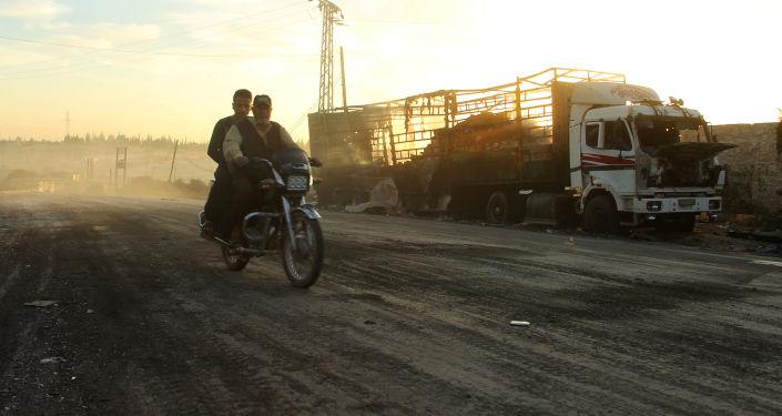 Convoi humanitaire bombardé en Syrie