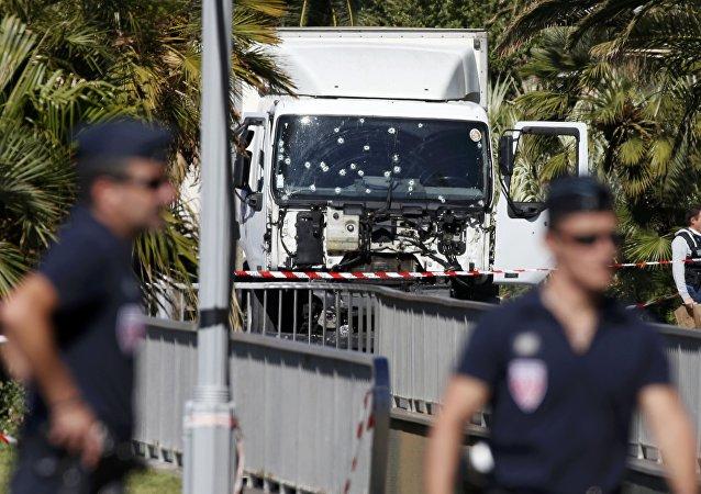 La police française à Nice