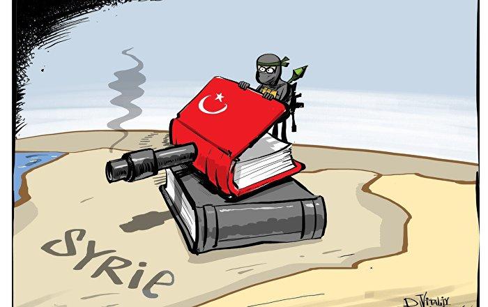 Un livre djihadiste de publication turque trouvé par des soldats syriens