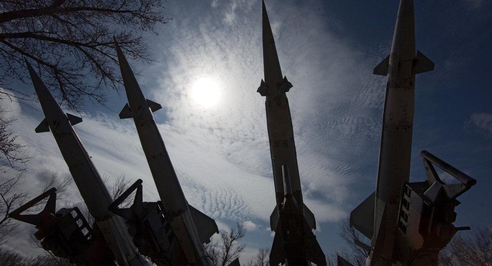Un système de missiles sol-air