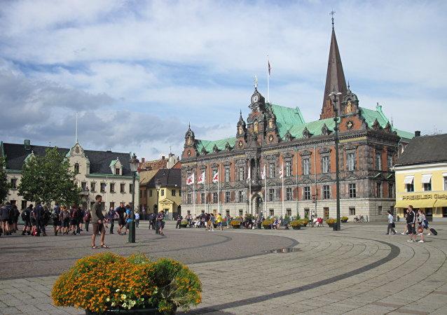 L'hôtel de ville de Malmö