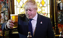 Le ministre britannique des Affaires étrangères Boris Johnosn