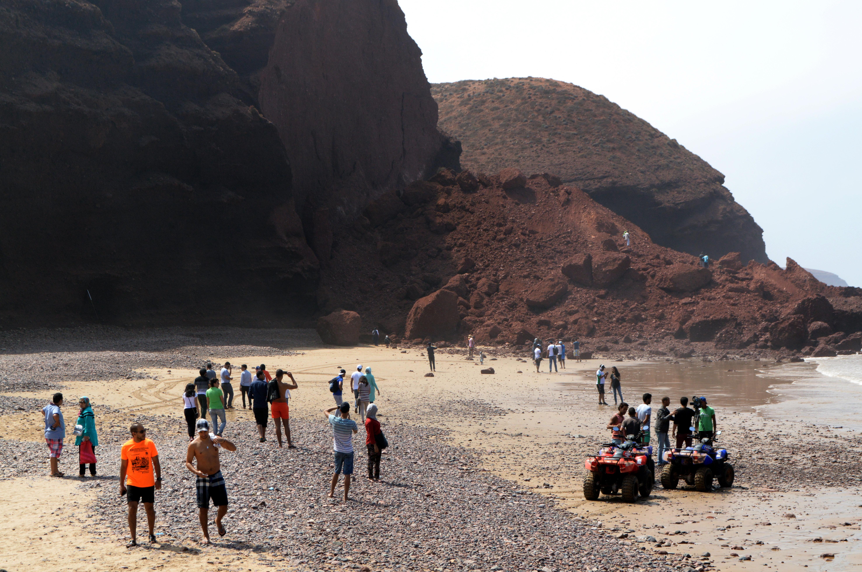 La plage de Legzira