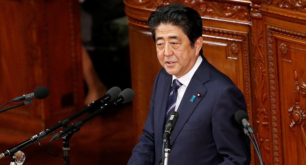 Le premier ministre du Japon Shinzo Abe