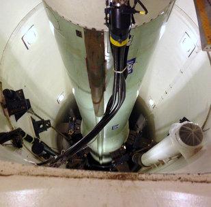 Le missile ballistique nucléaire intercontinental Minuteman 3