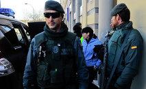 Police espagnole