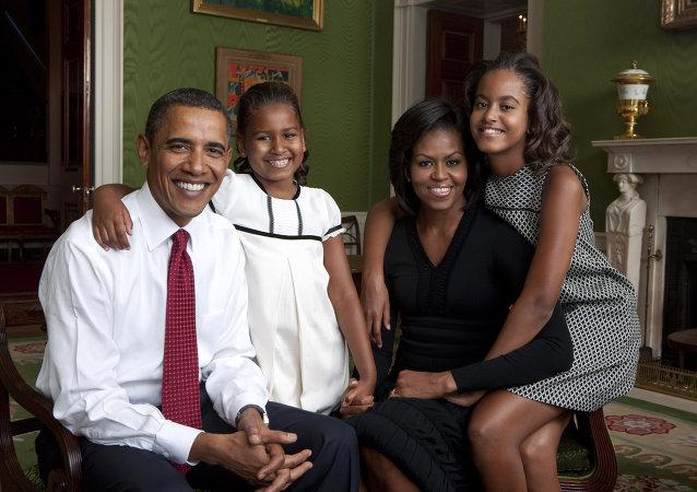 Obama et sa famille