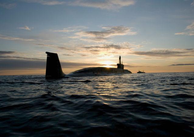 Un sous-marin russe Iouri Dolgorouki