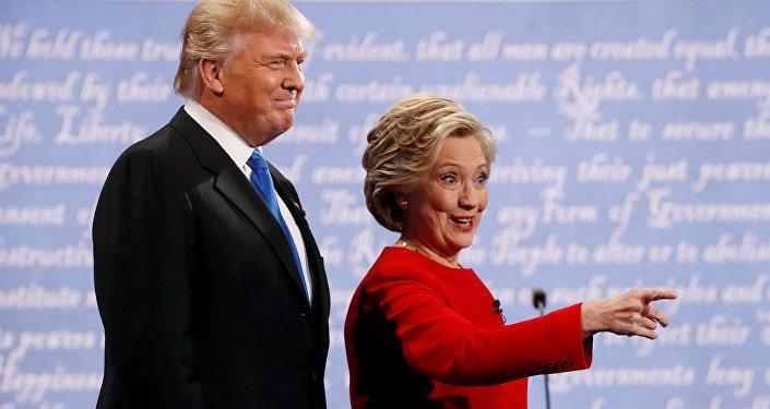 Clinton et Trump