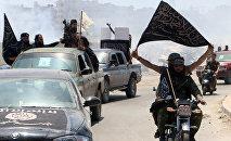 Les membres du Front al-Nosra