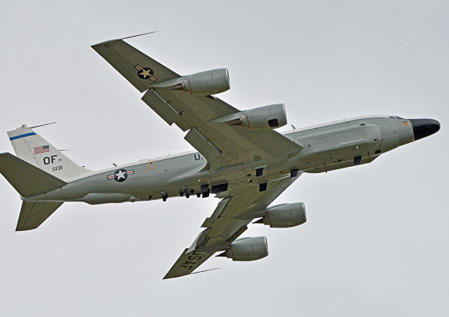 Un Boeing RC-135W, image d'illustration