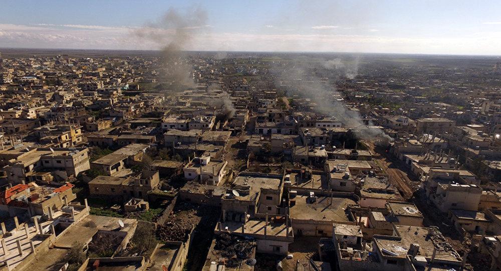 La ville syrienne d'Al-Sheikh Maskin libérée de Daech