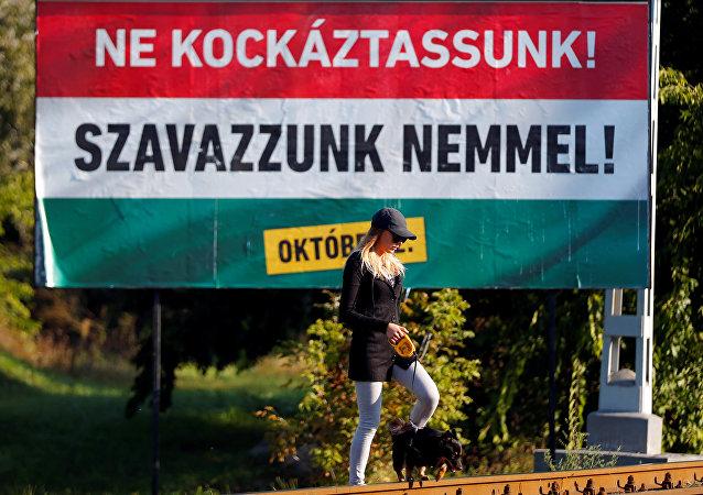 Les Hongrois votent sur les quotas migratoires de l'UE