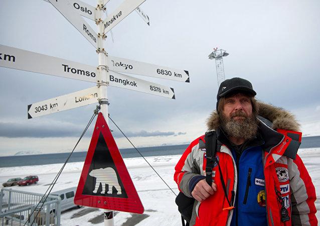 L'aventurier russe Fiodor Konioukhov