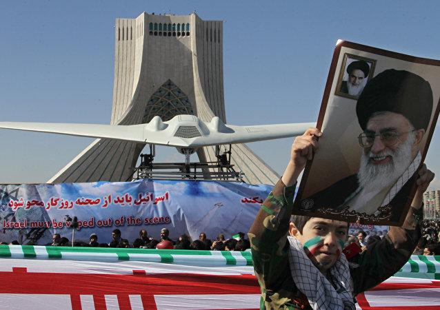 Réplique d'un RQ-170 Sentinel abattu en Iran