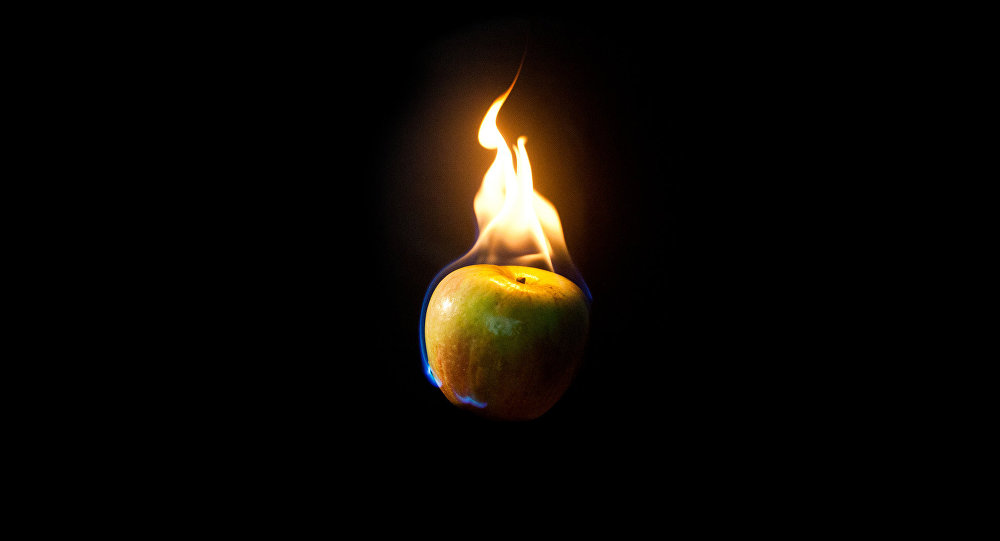 Pomme bougie
