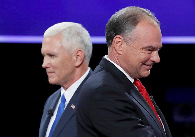 Les candidats à la vice-présidence US