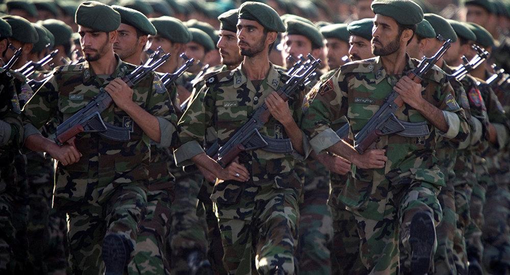 Gardiens de la révolution islamique lors d'un défilé (archive photo)