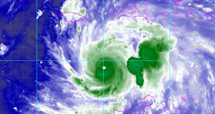 L'ouragan Matthew vu de l'espace