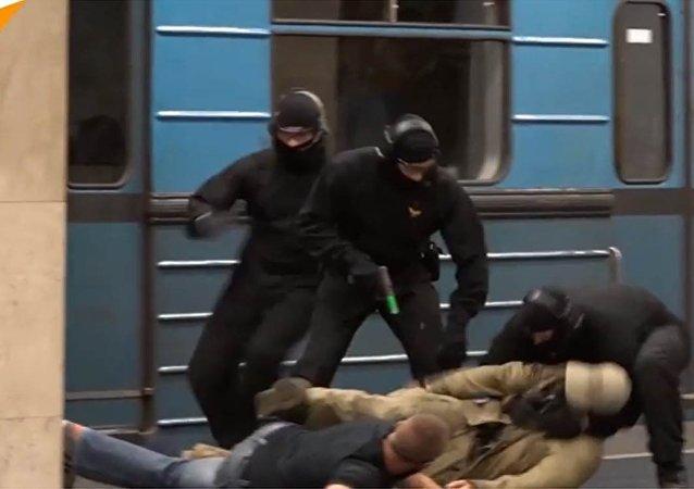 Des exercices de lutte contre le terrorisme se sont déroulés à Budapest