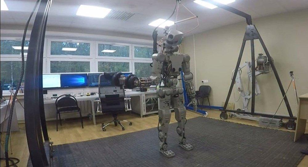 Le robot Fedor