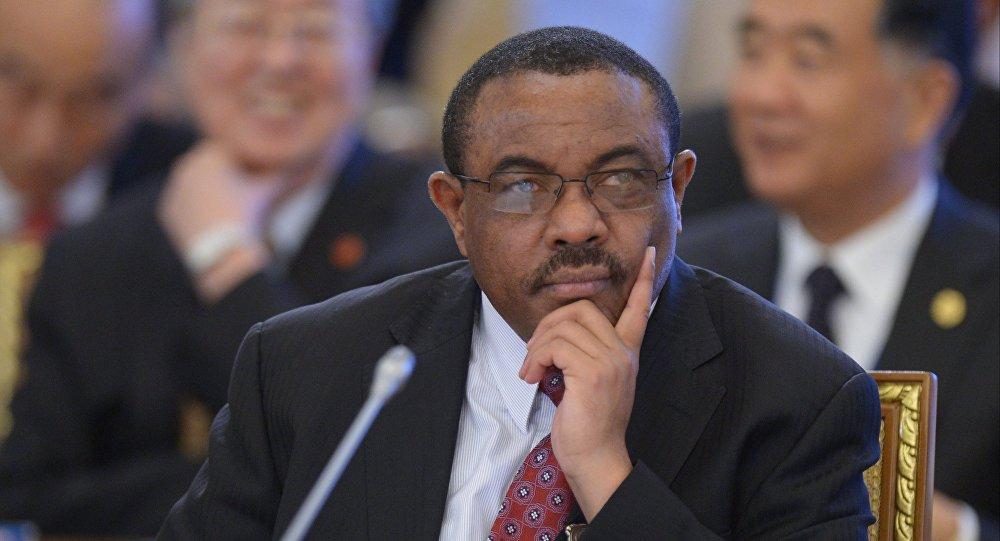 Le premier ministre éthiopien Hailemariam Desalegn