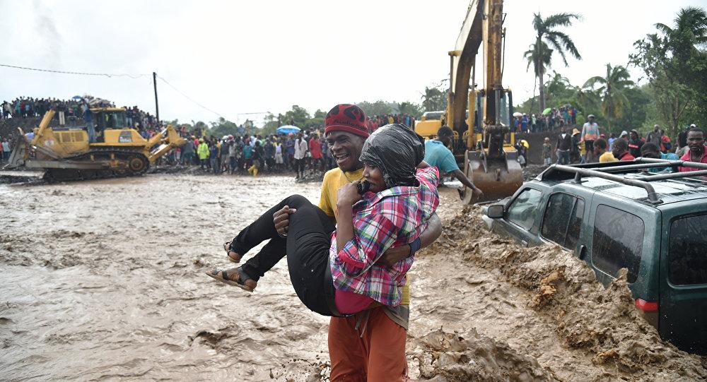 Les conséquences du passages de l'ouragan Matthew à Haïti