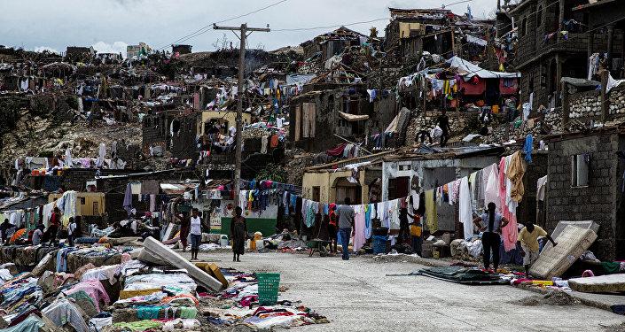 Les conséquences du passage de l'ouragane Matthew