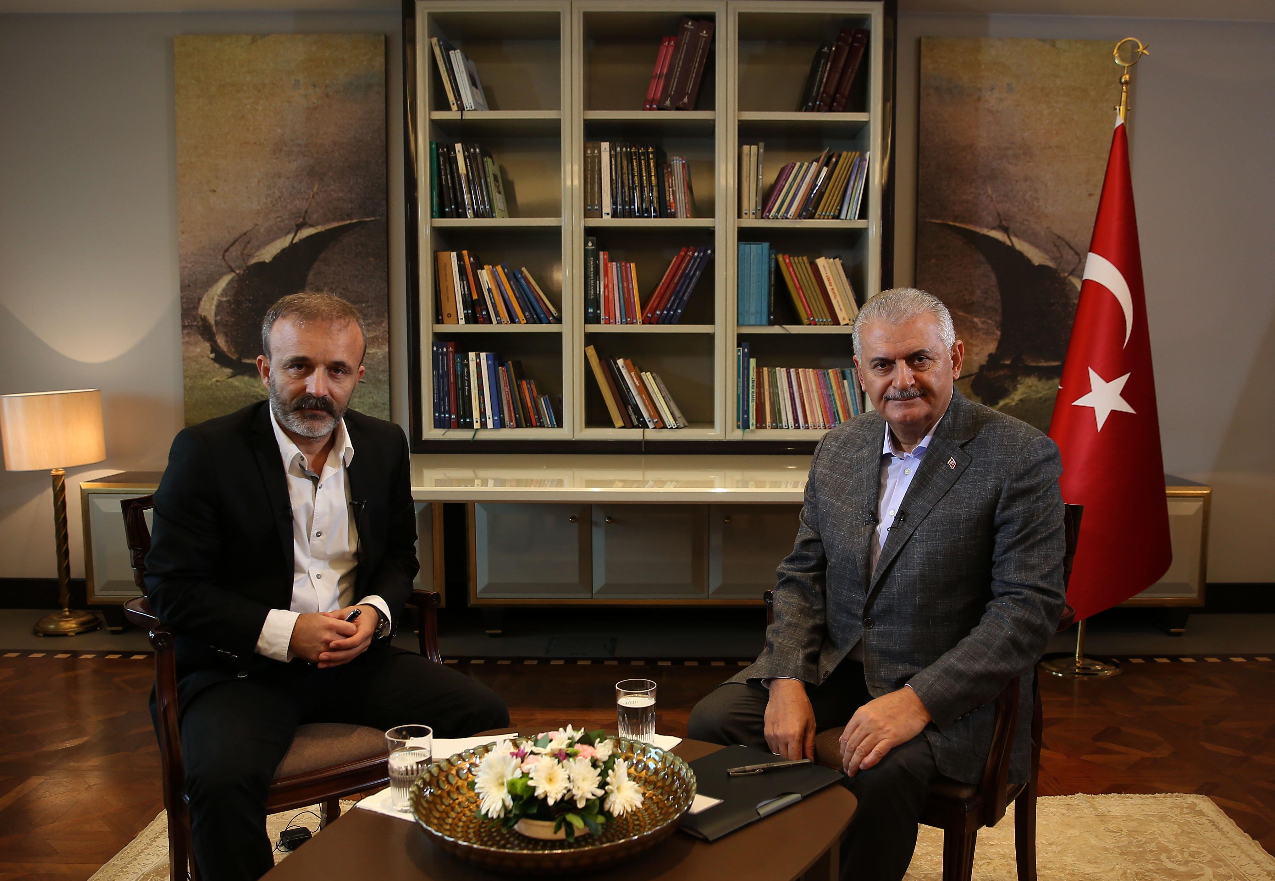 le premier ministre turc Binali Yildirim a accordé à Sputnik une interview