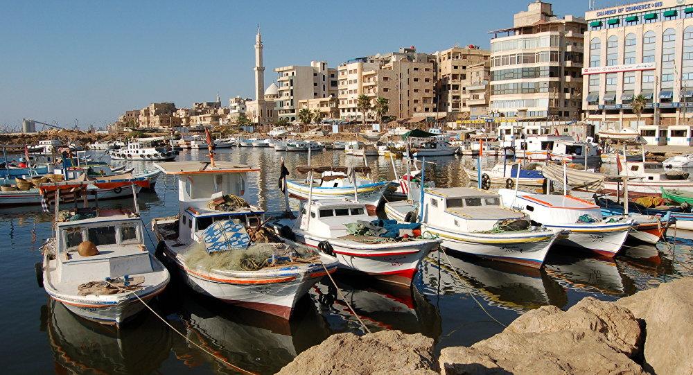 Le port syrien de Tartous