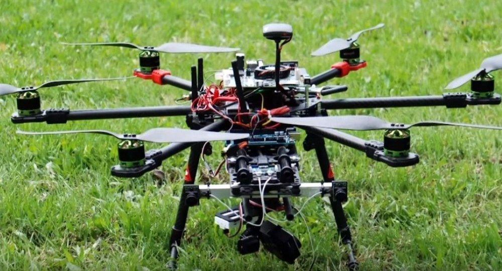Un drone de surveillance
