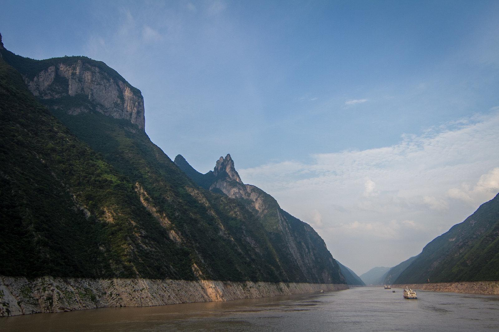 Le fleuve Yangtsé