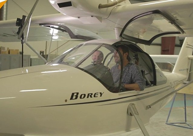 Rester vivant: un pilote vole contre la sclérose en plaques