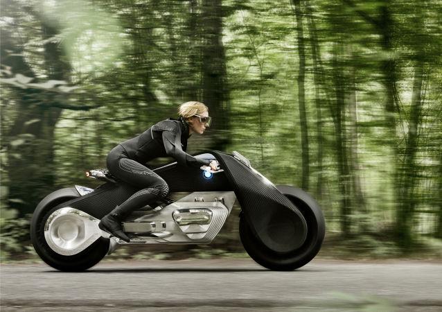BMW présente la moto de futur