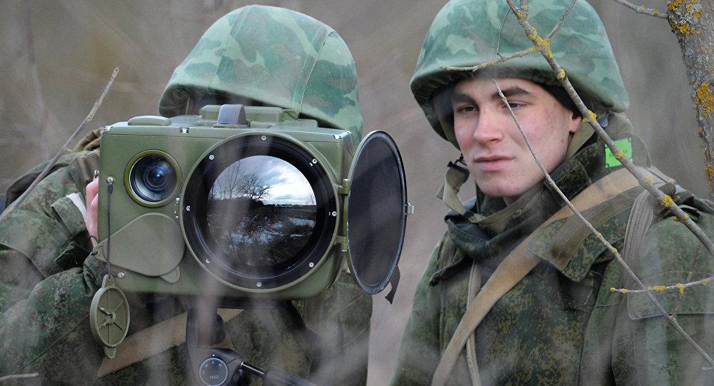 Des soldats de renseignement russes