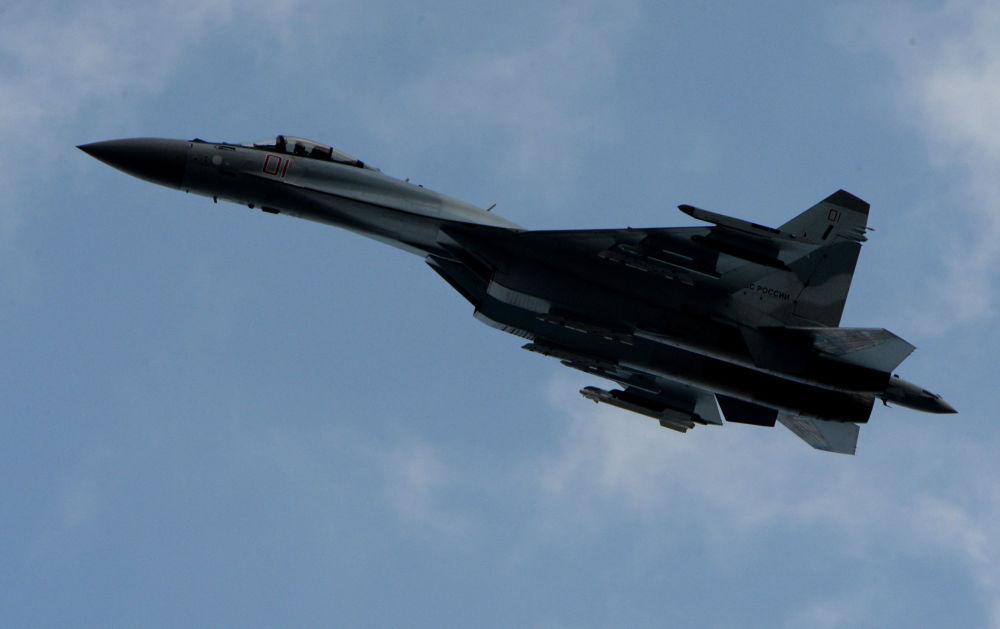 Les manœuvres tactiques des avions de chasse russes