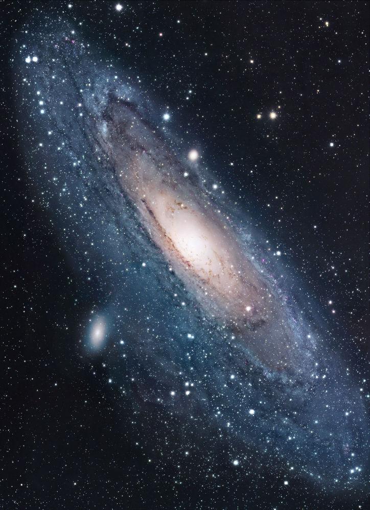 La galaxie d'Andromède est la galaxie la plus proche de la Voie lactée