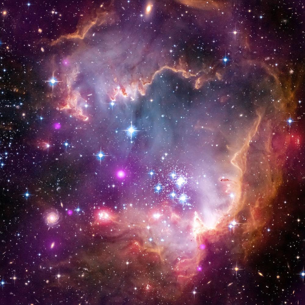 La galaxie du Petit Nuage de Magellan