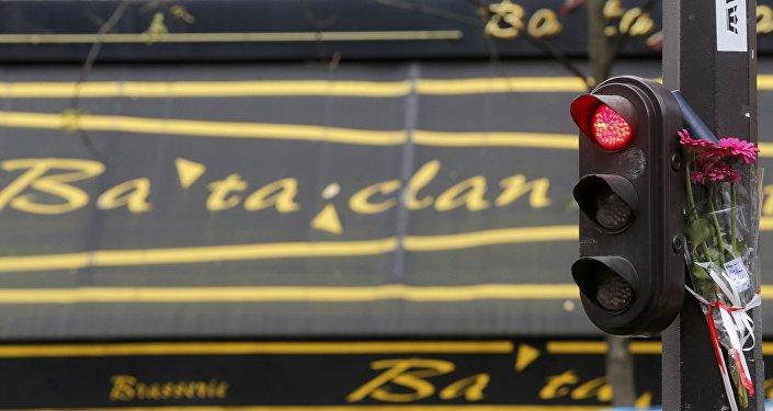 Hommage aux victimes du Bataclan