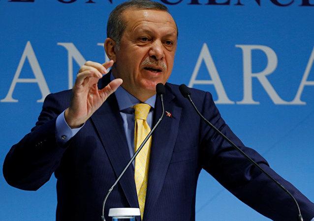 Recep Tayyip Erdogan, président turc.