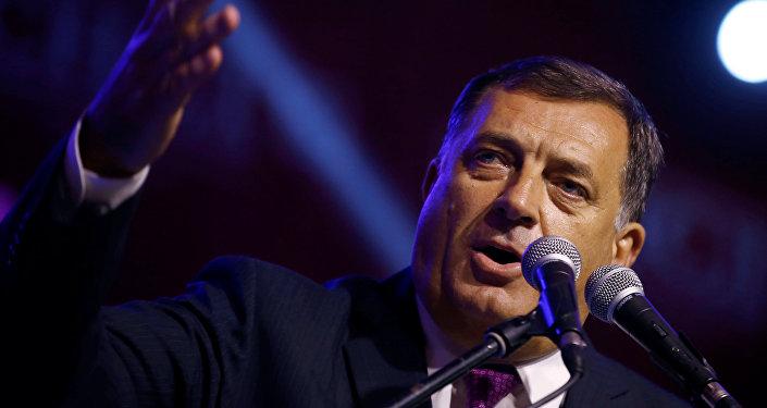 Les USA sanctionnent le président de la République serbe de Bosnie