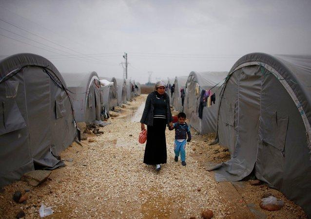 Des réfugiés syriens en Turquie
