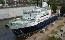 Et voici un navire russe censé briser le câble Internet sous-terrain près de la Syrie!