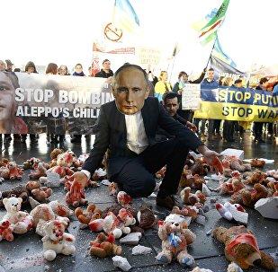 Guerre médiatique pour les tous petits: «Poutine mène deux guerres»