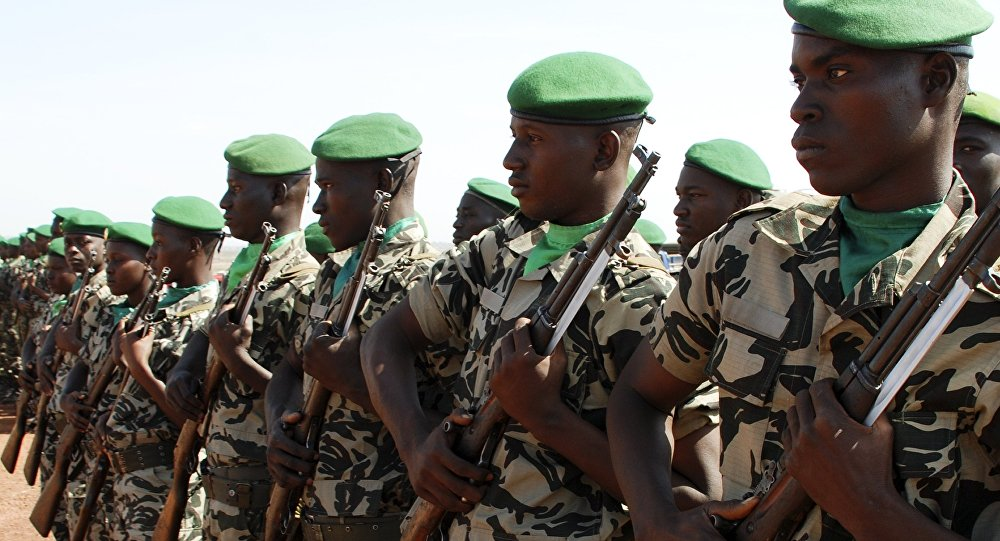 Militaires maliens